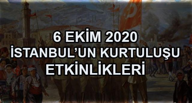 6 Ekim 2020 İstanbul'un Düşman İşgalinden Kurtuluşu Etkinlikleri
