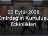 22 Eylül 2020 Emirdağ'ın Kurtuluşu Etkinlikleri