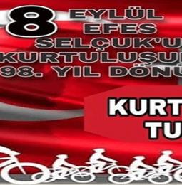 Efes Selçuk 8 Eylül Kurtuluş Etkinlikleri Bisiklet Turu 2020
