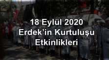 18 Eylül 2020 Erdek'in Kurtuluşu Etkinlikleri