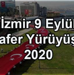 İzmir 9 Eylül Zafer Yürüyüşü 2020