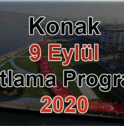 Konak 9 Eylül Kutlama Programı 2020