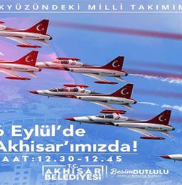 Manisa Akhisar 6 Eylül 2020 Türk Yıldızları Gösterisi