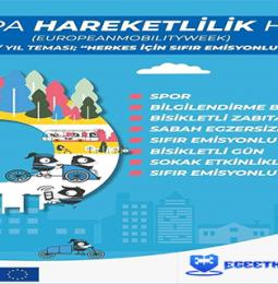 Merkezefendi Avrupa Hareketlilik Haftası Etkinlikleri – 16/22 Eylül 2020