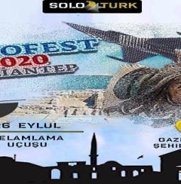 SoloTürk Selamlama Uçuşu Gaziantep Teknofest – 26 Eylül 2020