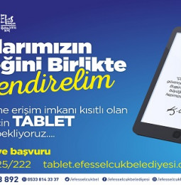 Efes Selçuk Belediyesi Tablet Desteği