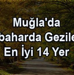Muğla'da Sonbaharda Gezilecek En İyi 14 Yer (2020)
