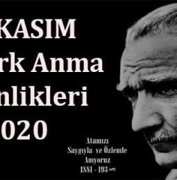 10 Kasım Atatürk'ü Anma Günü ve Haftası Etkinlikleri 2020