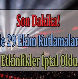 Son Dakika… İzmir'de 29 Ekim Kutlamalarındaki O Etkinlikler İptal Oldu!