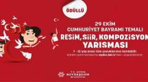 Aydın Büyükşehir Belediyesi Tablet Ödüllü Yarışma (29 Ekim Temalı)