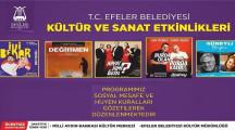 Efeler Belediyesi Ücretsiz Kültür Sanat Etkinlikleri