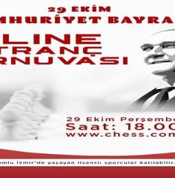 Karşıyaka 29 Ekim 2020 Online Satranç Turnuvası