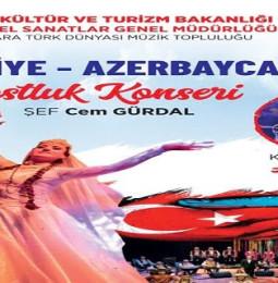 Türkiye Azerbaycan Dostluk Konseri (Azerin) – 3 Ekim 2020