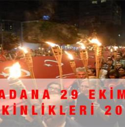 Adana 29 Ekim Kutlamaları 2020