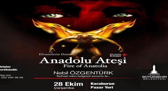 Anadolu Ateşi 28 Ekim 'de Karaburun'da