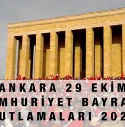 Ankara 29 Ekim Kutlamaları 2020