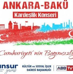 Ankara – Bakü Kardeşlik Konseri 18 Ekim 2020 (Azerbaycan Cumhuriyeti'nin Bağımsızlığının 29.Yılı)