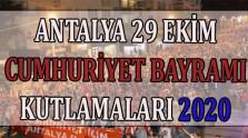 Antalya 29 Ekim Kutlamaları/Etkinlikleri 2020