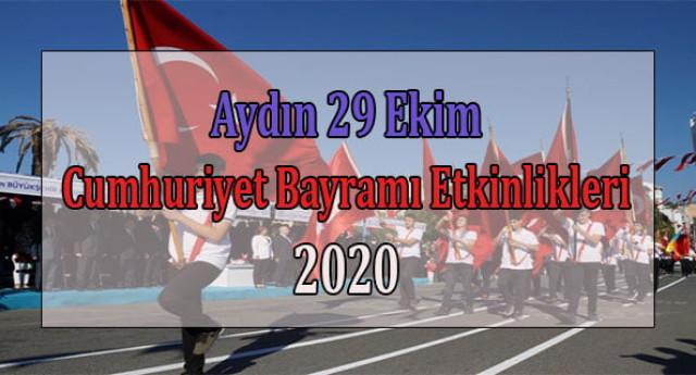 Aydın 29 Ekim Cumhuriyet Bayramı Etkinlikleri 2020