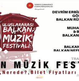 Balkan Müzik Festivali Konserleri 2020