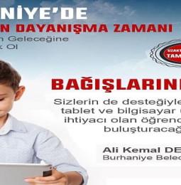 Balıkesir Burhaniye Belediyesi Ücretsiz Tablet Desteği Başvuru
