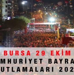 Bursa 29 Ekim Kutlamaları 2020