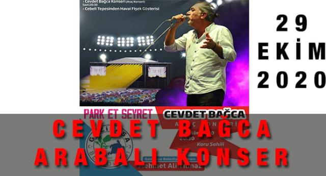 Cevdet Bağca Antalya Arabalı Konseri – 29 Ekim 2020