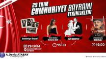 Didim Belediyesi 29 Ekim Cumhuriyet Bayramı Etkinlikleri 2020