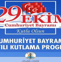 Dikili 29 Ekim Cumhuriyet Bayramı Kutlama Programı 2020