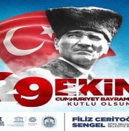 Efes Selçuk Belediyesi 29 Ekim Cumhuriyet Bayramı Kutlama Programı 2020