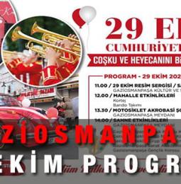 Gaziosmanpaşa Belediyesi 29 Ekim Etkinlikleri 2020