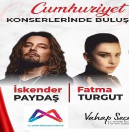 İskender Paydaş, Fatma Turgut ve Suat Suna Mersin Konseri – 29 Ekim 2020