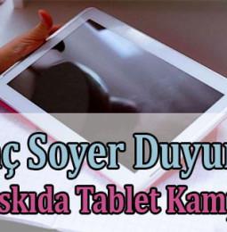 İzmir Askıda Tablet Başvuru Formu