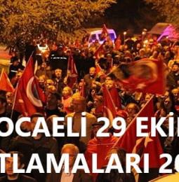 Kocaeli 29 Ekim Cumhuriyet Bayramı Kutlamaları 2020