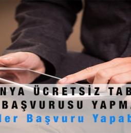 Konya Ücretsiz Tablet Başvurusu Yapma