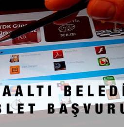 Antalya Konyaaltı Belediyesi Tablet Bilgisayar Başvurusu Yapma