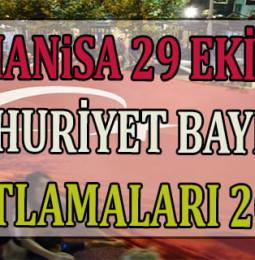 Manisa 29 Ekim Kutlama Programı ve Etkinlikler 2020