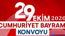 Milas Belediyesi 29 Ekim Cumhuriyet Bayramı Konvoyu 2020