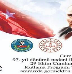 Soma 29 Ekim Cumhuriyet Bayramı Etkinlikleri 2020