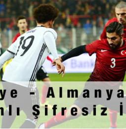 Almanya – Türkiye Hazırlık Maçı Şifresiz Canlı İzle – 07 Ekim 2020