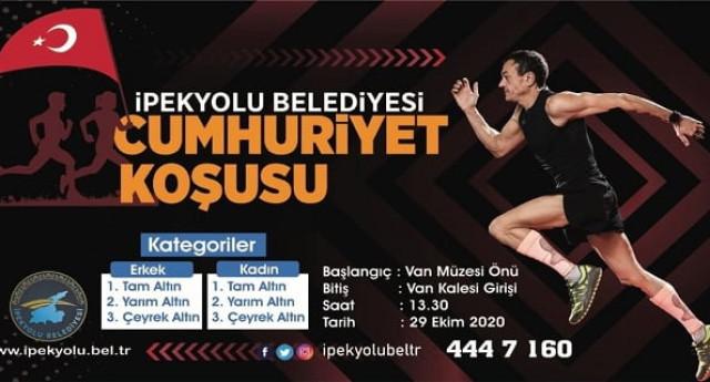 Van İpekyolu Belediyesi 29 Ekim Cumhuriyet Koşusu 2020