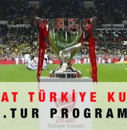 Ziraat Türkiye Kupası 2.tur Maç Programı 2020 – 2021