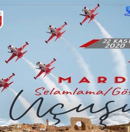Türk Yıldızları Mardin Selamlama Uçuşu – 22 Kasım 2020