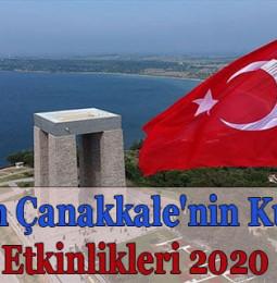 26 Kasım Çanakkale'nin Kurtuluşu Etkinlikleri 2020