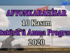 Afyonkarahisar 10 Kasım Atatürk'ü Anma Programı 2020