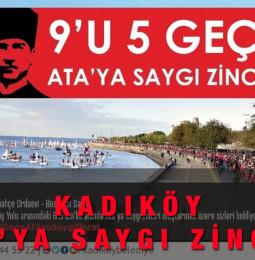 Kadıköy Ata'ya Saygı Zinciri – 10 Kasım 2020