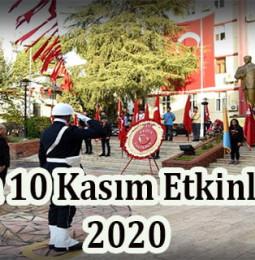 Aydın 10 Kasım Atatürk'ü Anma Etkinlikleri 2020