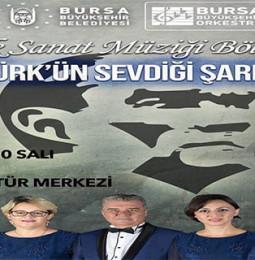 Bursa Atatürk'ün Sevdiği Şarkılar Konseri – 10 Kasım 2020