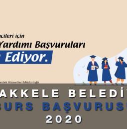 Çanakkale Belediyesi Üniversite Öğrenim Burs Başvurusu 2020
