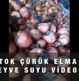 Çürük Elma ile Meyve Suyu Yapılıyor Videosu